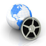 World of Video Royalty Free Stock Photos