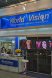 World Vision satellite digital equipment booth Stock Photography