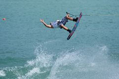 World Wakeboard Championship Royalty Free Stock Photo