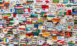World wall Royalty Free Stock Images