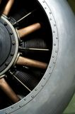 World War 1 Aero Engine Stock Photo