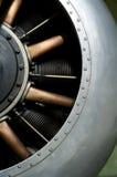 World War 1 Aero Engine. A rotarty engine from a worls war one fighter aircraft Stock Photo