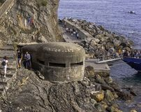 Free World War 2 Bunker In Monterosso Al Mare, Cinque Terre, Italy Royalty Free Stock Photo - 160576815