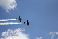 World War 2 Fighter Jets Royalty Free Stock Photography