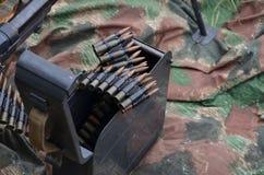 World war 2 machine gun. In close view Royalty Free Stock Photography