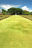 World War 2 Memorial Cemetery Royalty Free Stock Images