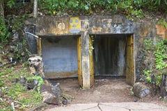 Guam World War 2 Shelters stock image