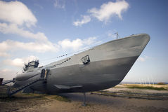 World War 2 Submarine stock photo