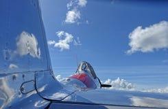 Propeller fighter plane. World War 2 American Propeller fighter plane Royalty Free Stock Images