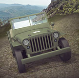 World War 2 Army Jeep Royalty Free Stock Images
