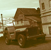 World War 2 Army Jeep Stock Photos