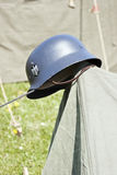 World War 2 German Helmet Royalty Free Stock Photography