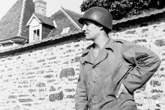World War 2 GI Royalty Free Stock Images