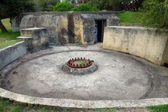 World War 2 Gun Emplacement Stock Photos