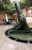 World War 2 Guns. Of corregidor island Royalty Free Stock Image