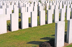World war I cemetery, Flanders Royalty Free Stock Image