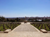 World War I cemetery Jerusalem Royalty Free Stock Photography