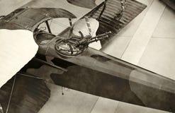 World War I era airplane Royalty Free Stock Photos