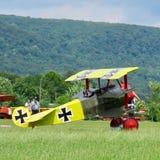 World War I era plane. royalty free stock images