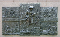 World war I memorial Stock Images