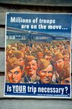 World War I poster in the United States. Of America stock photo
