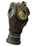 World War I vintage gas mask Stock Photo