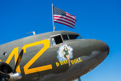World War II Aircraft Decoration Royalty Free Stock Images
