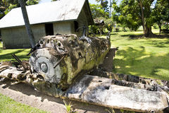 World War II Aircraft, Rabaul Stock Images