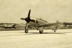World War II airplane royalty free stock photography
