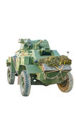 World War II Armored Fighting Vehicle Isolated Royalty Free Stock Image