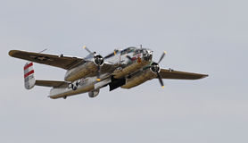 World War II B-25 Mitchell Bomber Royalty Free Stock Photography