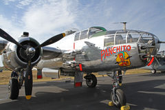 World War II B-25 Mitchell Bomber Aircraft Royalty Free Stock Photo