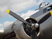 World War II B17 Bomber's Propellers Stock Image