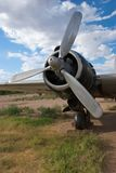 World War II Bomber Engine Royalty Free Stock Photos
