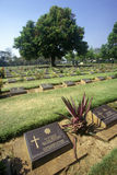World War II Cemetery, Thailand Stock Photos