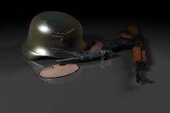 World war II concept Stock Image