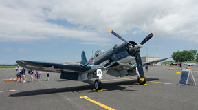 World War II Corsair Stock Photo