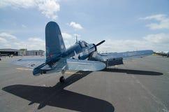 World War II Corsair Stock Photo