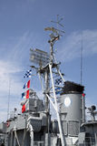 World War II Destroyer exterior Royalty Free Stock Photography