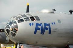 World War II era B-29 Stratofortress bomber Royalty Free Stock Photo