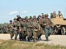 World War II era battle Royalty Free Stock Image