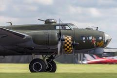 Free World War II Era Boeing B-17 Flying Fortress Bomber Aircraft `Sally B` G-BEDF. Royalty Free Stock Photography - 119316927