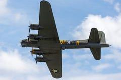 Free World War II Era Boeing B-17 Flying Fortress Bomber Aircraft `Sally B` G-BEDF. Stock Image - 119316991