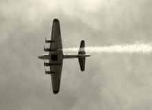 World War II era bomber Stock Photos