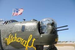 World War II era bomber Royalty Free Stock Photo