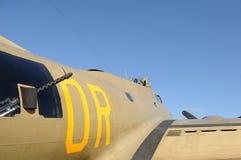 World War II era bomber Royalty Free Stock Images