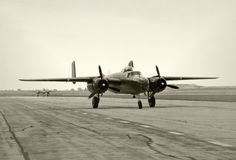 World War II era bombers Royalty Free Stock Images