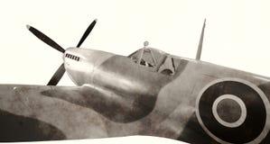 World War II era fighter Stock Photos