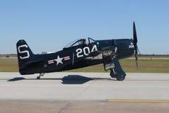 World War II era fighter plane royalty free stock image