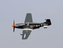 World War II era P-51 Mustang Royalty Free Stock Image